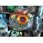 Portagarrafon/dispensador De Vidrio Decorado Para Agua Juego
