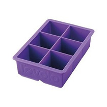 Tovolo Rey Bandeja Del Cubo De Hielo - Púrpura Real