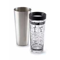 Coctelera Boston Acero Inoxidable Vaso Cristal 16 Oz Receta