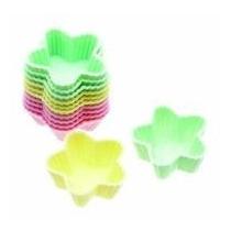Silicona Estrellas Cases - Paquete De 12 Pastel Color Mini