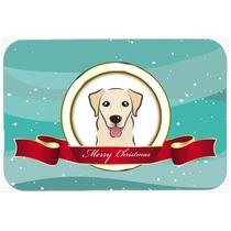 Golden Retriever Feliz Navidad De Vidrio Tabla De Cortar Gra