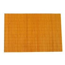Set De 4 Manteles Individuales Bambú Naranja