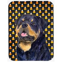 Retrato De Rottweiler Halloween De Las Pastillas Junta De Co