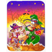 Voodoo Bruja De Halloween Del Espantapájaros De Cristal Tab
