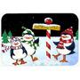 Polo Norte Le Da La Bienvenida Pingüinos De Cristal Tabla D