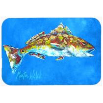 Fish - Red Fish Mariscos Dos De Cristal Tabla De Cortar Gran
