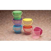 150 Cubetas De Plastico Colores Fiesta, Dulcero, Recuerdo