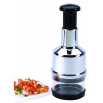 Cocine Verduras Pro Chrome Y Cebolla Chopper