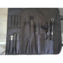 Cuchillos Victorinox Para Chef U Hogar De 9 Pzas Chef 19 Cm.