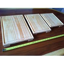 Tablas Madera Juego De 3 Platos Para Picar Sushi Carnes