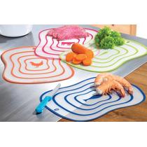 Set De 4 Tablas Para Picar Alimentos Colors 13517