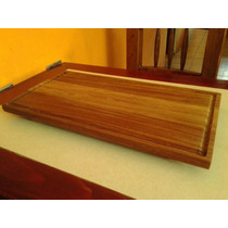 Tabla De Picar De Madera Tropical