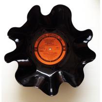 Botaneros De Disco Acetato Fruteros Reciclado Vinyl Colores