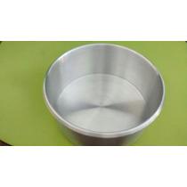 Molde Redondo Pastel 16cm * Aluminio
