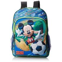 Mickey Mouse 3d Moldeado Mochila Eva Disney Chicos Little Bo
