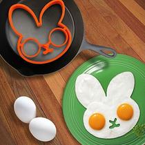 ¡molde De Silicón Para Hacer Tu Huevo En Forma De Conejo!