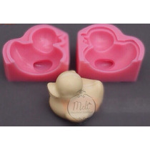 Molde De Silicon D Pato Para Fondant Ideal Para Baby Shower
