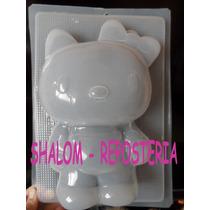 *molde Grande Para Gelatina Hello Kitty ,sanrio Japon *