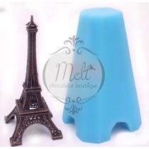 Molde De Silicon Torre Eiffel Chocolate O Fondant