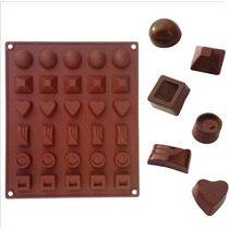 Molde De Silicon Para Chocolate D074