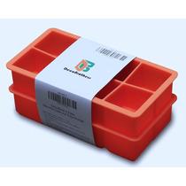 Decobros 2 Paquetes Silicon 2 Pulgadas King Cubes Hielo