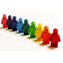 Forma De Silicon - Muñecos De Lego - Chocolate Hielo Jabón