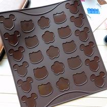 Molde D Silicon Para Macarrones De Kitty Mickey Estrellas