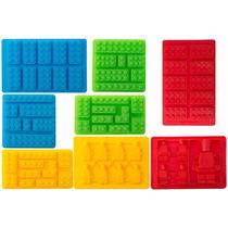 Molde De Silicon Para Hacer Hielo En Forma De Legos Dgv