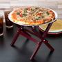 Mini Base Para Pizza Botana Mesa Plegable