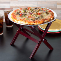 Mini Base Para Pizza Botana Mesa Plegable