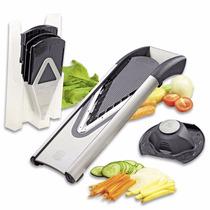 Rallador De Verduras Quesos Frutas Borner V6 Acero Inoxidabl