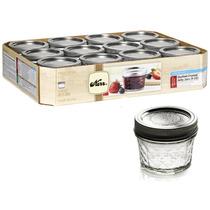 Fracos Conservas 4 Oz (mason Jar Kerr) Caja Con 12 Frascos