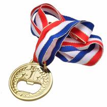 Genial Destapador De Botellas Forma Medalla Olimpica