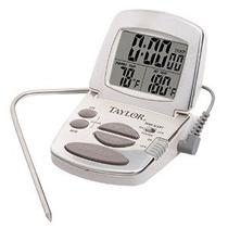 Termómetro De Cocina Taylor Digital Con Sonda Y El Temporiza