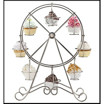 Base Para Cupcakes Giratoria! Hermoso Diseño!
