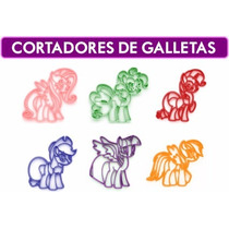 Cortadores De Galletas My Little Pony