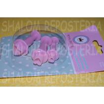 *kit 3 Cortadores Eyectores Corazones Mini Icing Fondant*