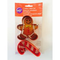 Cortador De Galleta De Jengibre Y Caramelo De Navidad