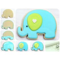Cortador De Galletas Elefante El Principito, Elefantito