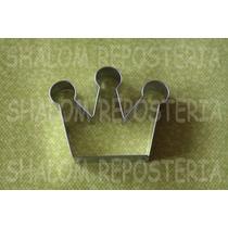*cortador De Galleta Corona Modelo 1 Princesa Disney Fondant