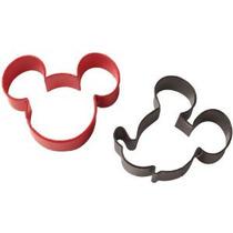 1 X 2 Cortadores De La Galleta / Pkg-mickey Mouse