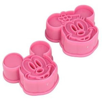 1 X Niceeshop (tm) 1ajuste (2pcs) -cute Mickey / Minnie Mous