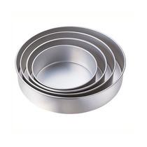 Juego De 4 Moldes De Aluminio Redondos Para Pastel Torta