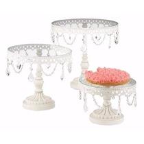 Bases Para Pastel De Boda Cupcake Eventos Cristal Elegante