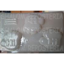 *molde Mediano Para Gelatinas Gomita Manos Hi-5 Discovery*