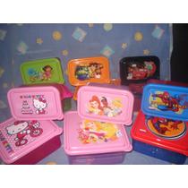 Juegos De Recipientes Escolares. Kitty, Cars, Dora, Etc. Mmy