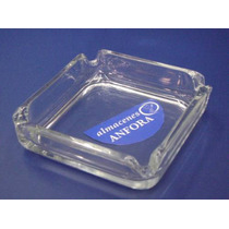 Cristaleria Cenicero Cuadrado D:10.2cm/4 Mod.: 0952 Mrc.: C
