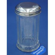 Cristaleria Azucarera Con Tapa Acero Inox Mod.: 613 Mrc.: Ez