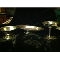 Set De 3 Articulos De Aluminio