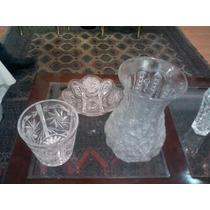 Vendo Hermosas Piezas De Cristal Cortado